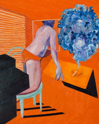 Esteban Ocampo-Giraldo Coveñas, 2014 Oil on canvas 40 x 50 inches $1,800