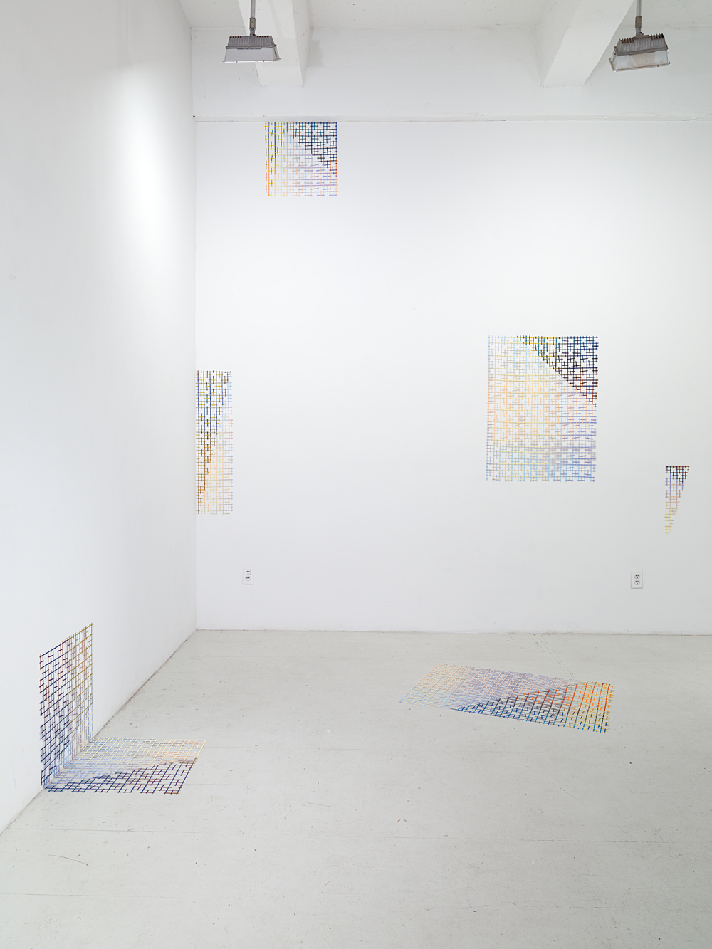 CUT LIGHT / OPEN LATE Installation view