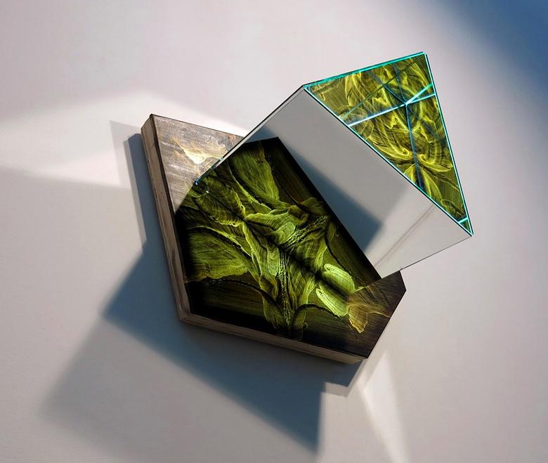 "MaDora Frey ""Kaleidoscope #600"",2015"