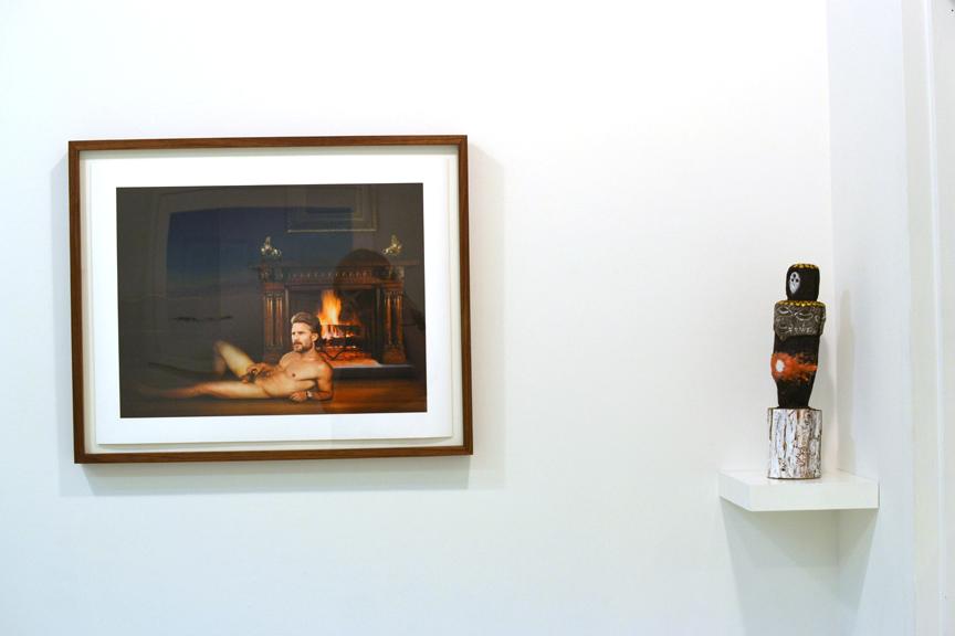Julie spoke softly under her long skinny nose, Installation photo
