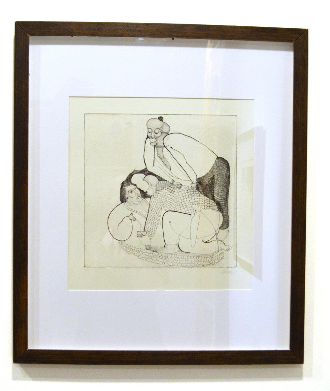 "Untitled, 2017, Intaglio, 12 x 12"""