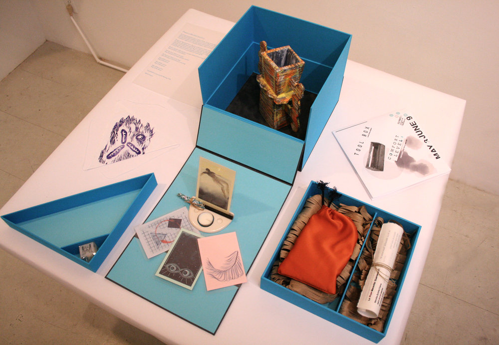 Installation View of Tool Box