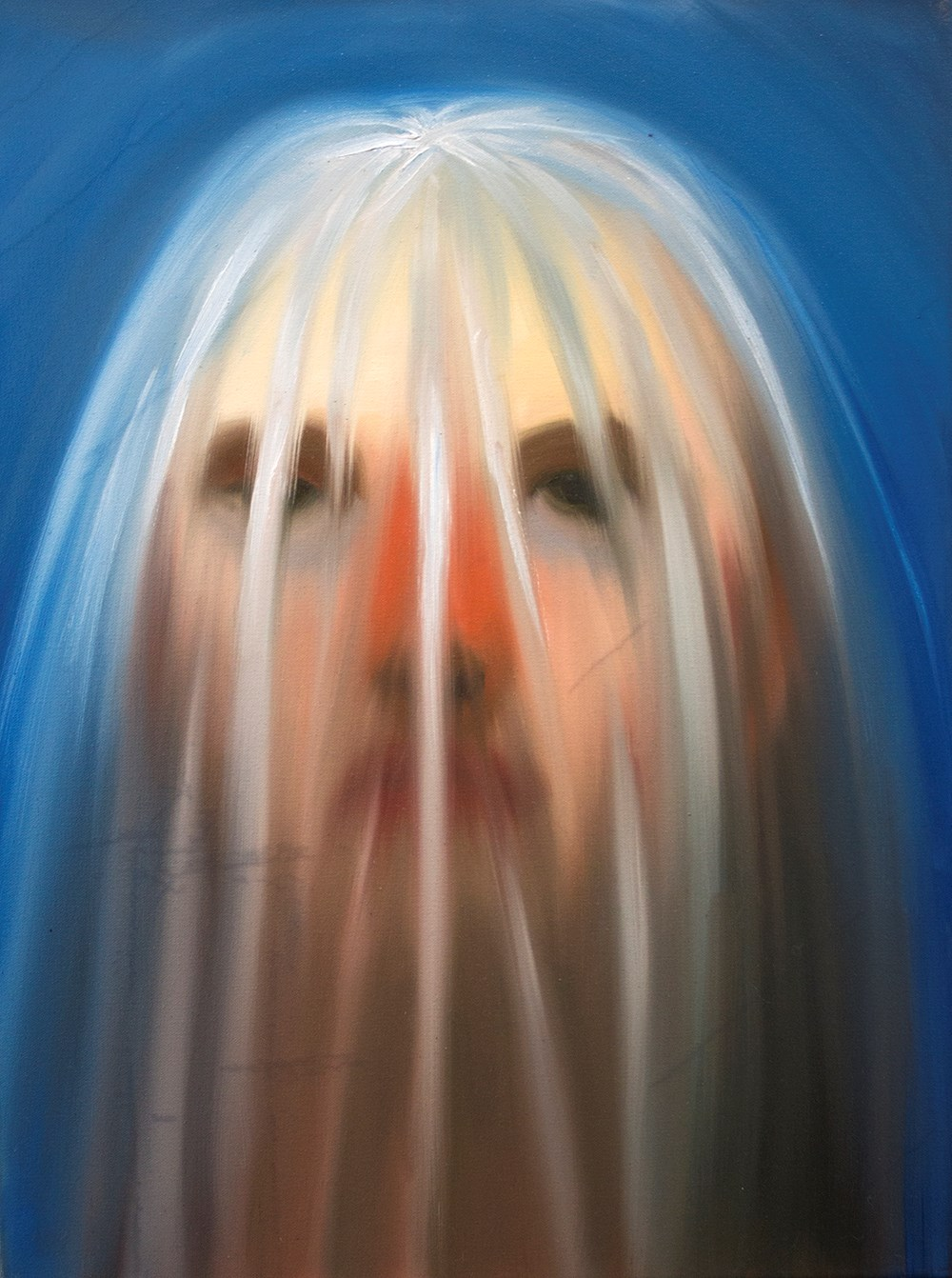 "Emily Miller ""Ghost"" / 2018 / oil on canvas / 24 x 18"""