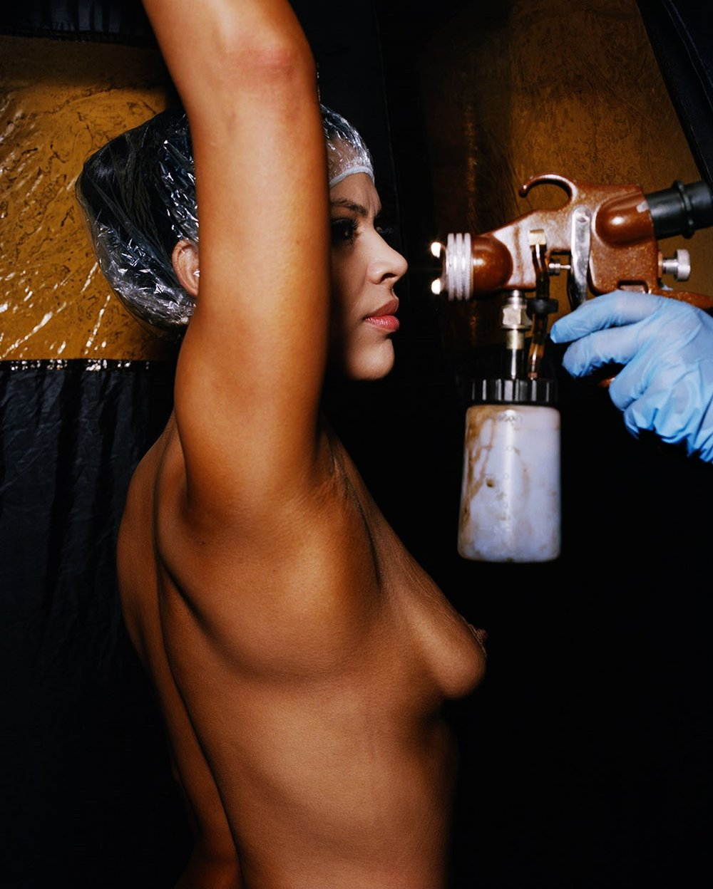 "Jen Davis ""Spray Tan, Los Angeles, CA"" / 2014 / Archival Pigment Print / 24x20"""