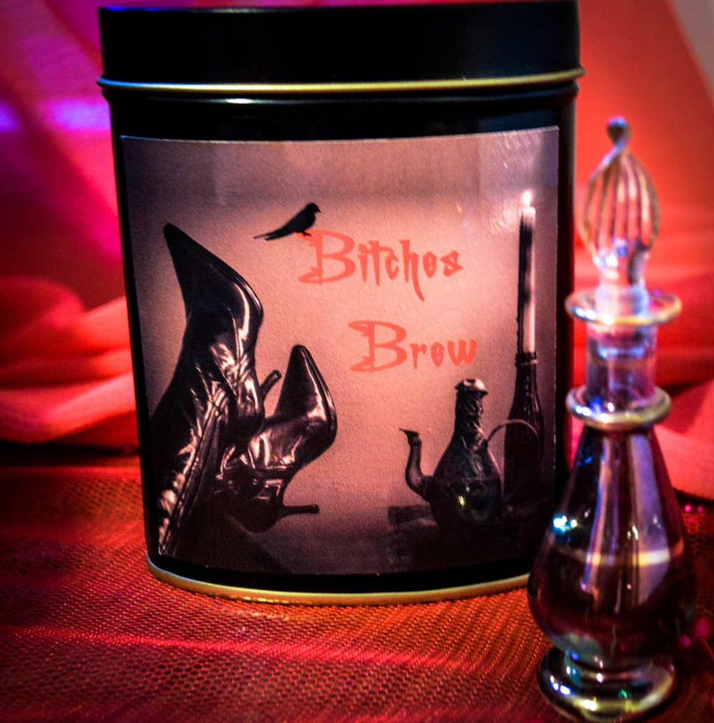 Bitches Brew 4oz loose tea & Bitches Blend oil.