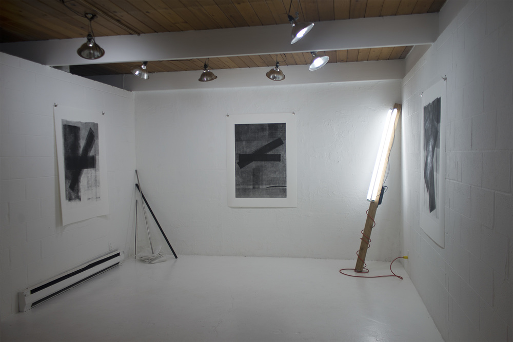 Exhibition view.