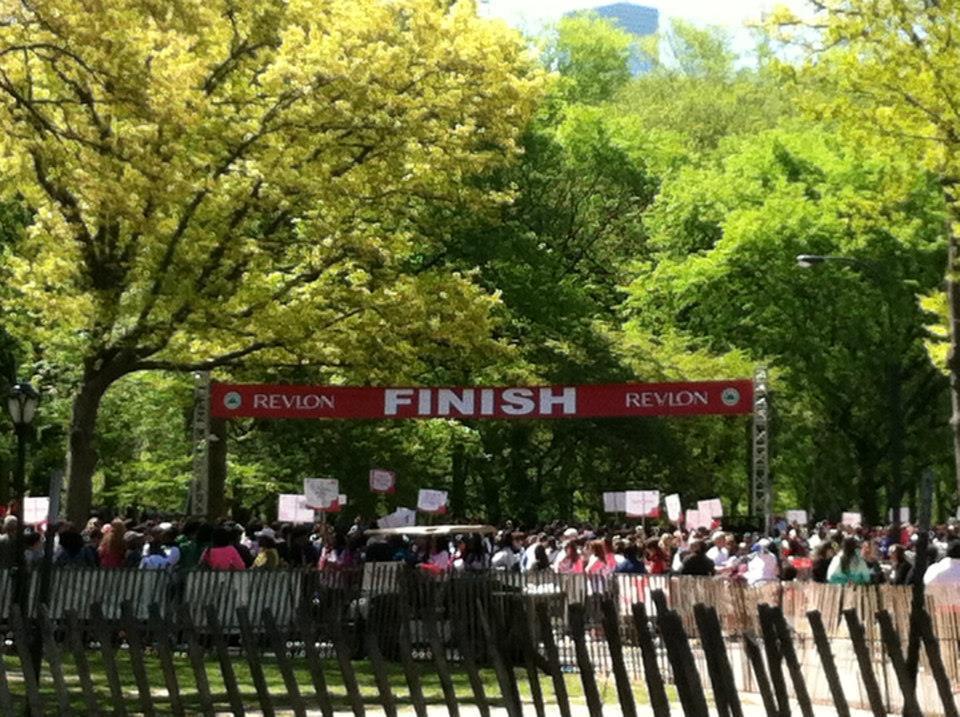 MEANYC team at the Revlon Run/Walk for Women's Cancer