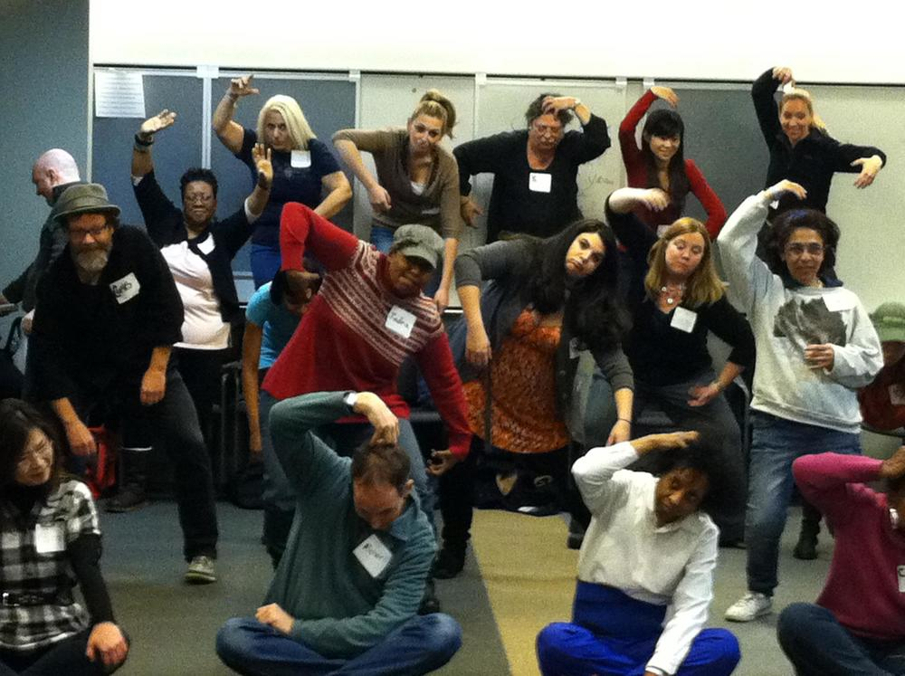 """Conquering the World of Musical Theatre"" workshop presented by iTheatrics, Saturday, February 4, 2012"