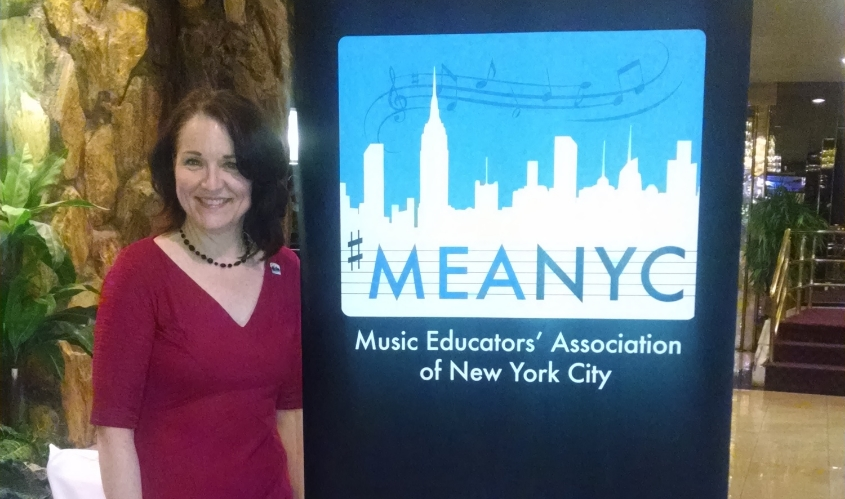 MEANYC President Michelle Turner at 2014 Awards Dinner