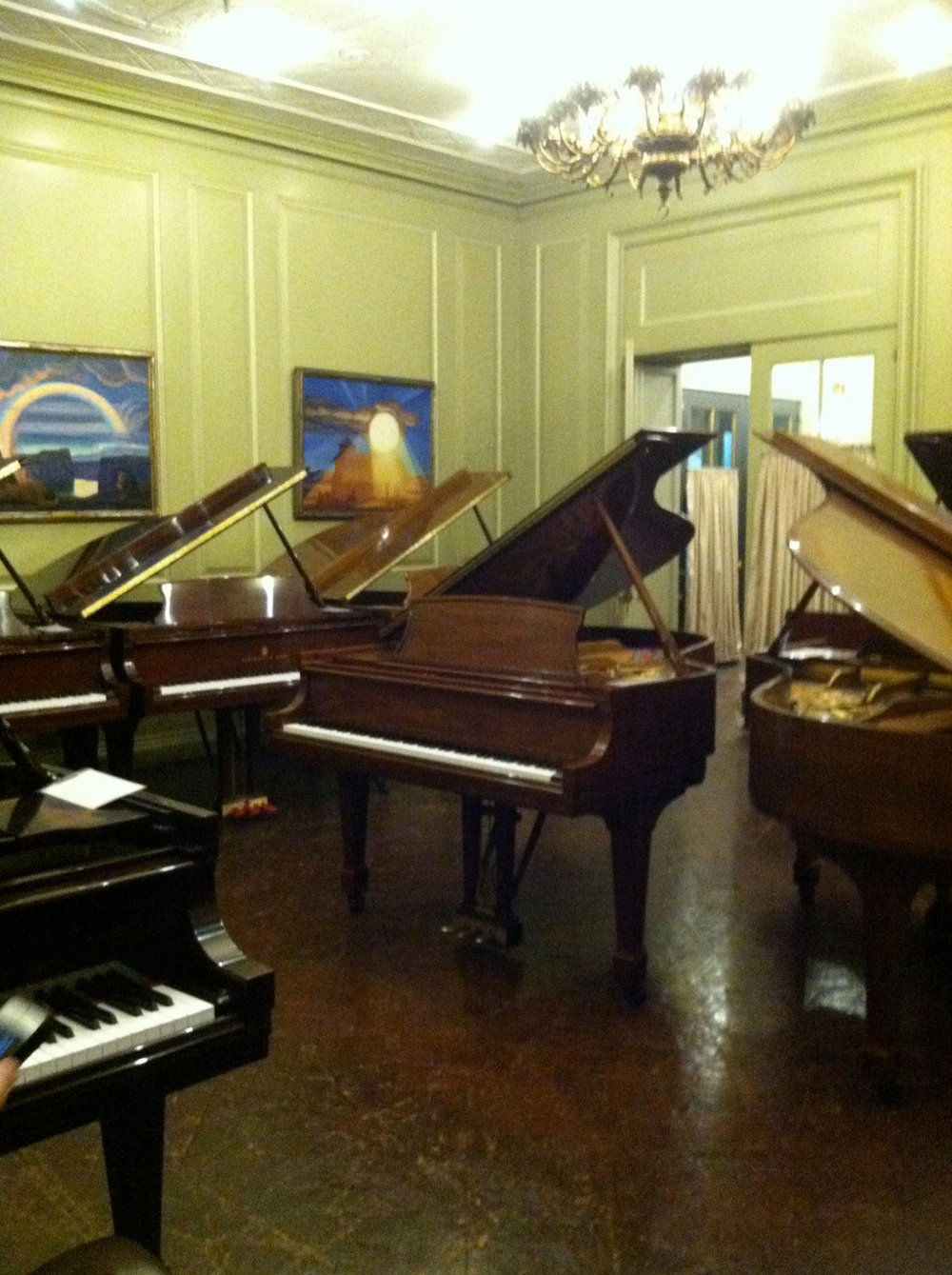 2014 Meet and Greet event at Steinway Hall
