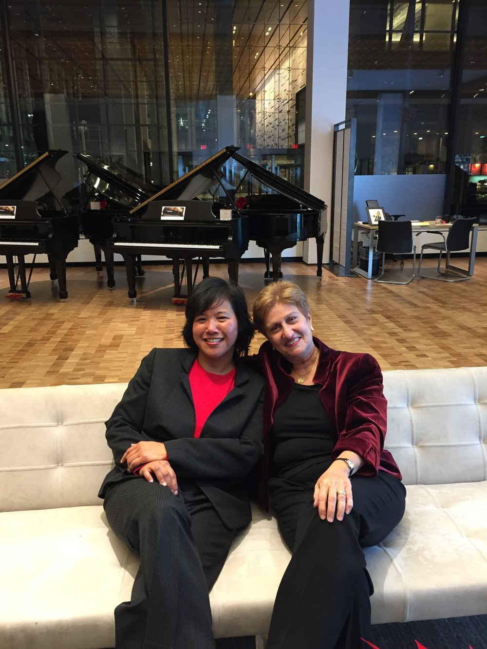 Many thanks to Karen Beluso and our friends at Steinway