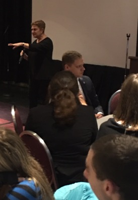 At the NYSSMA Winter Conference December 2016, MEANYC President Barbara Novick addressed approximately 150 collegiate members. Our future music educators are going strong!