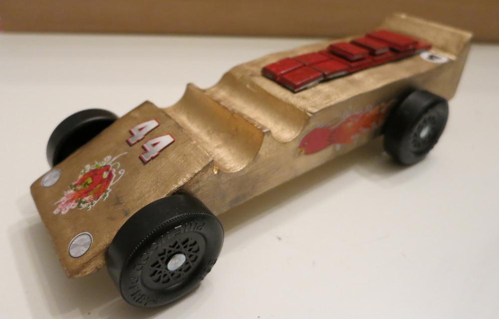 2. Carter Car 44