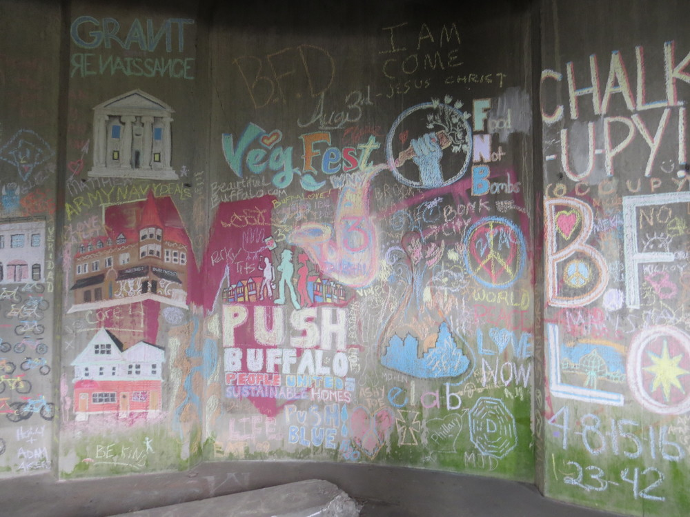 Chalk: the ephemeral graffiti