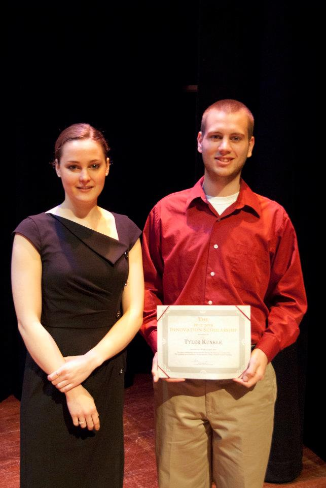 Sarah Lanphier and Tyler Kunkle