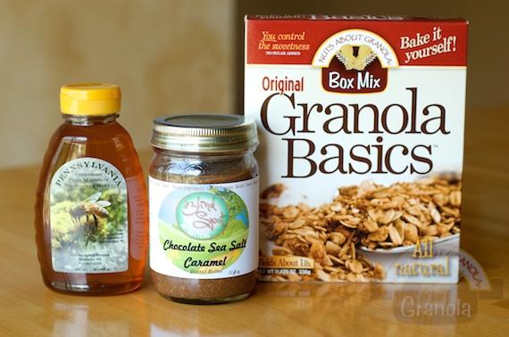No bake granola bites