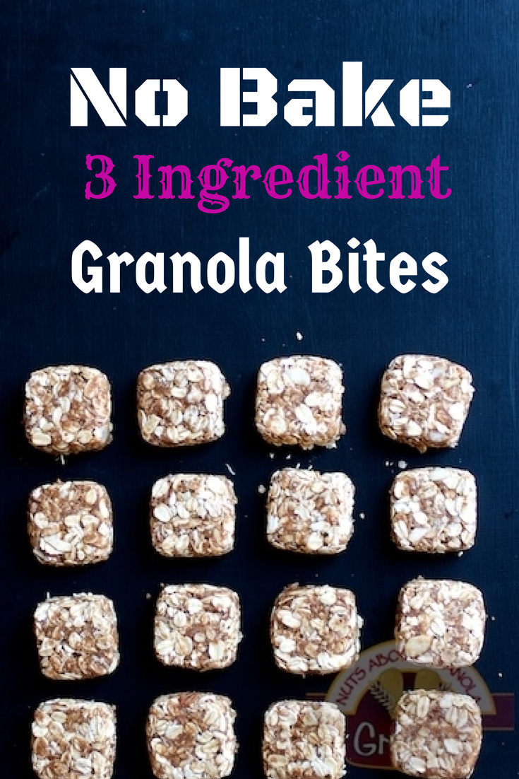 No Bake Granola Bites from Nuts About Granola