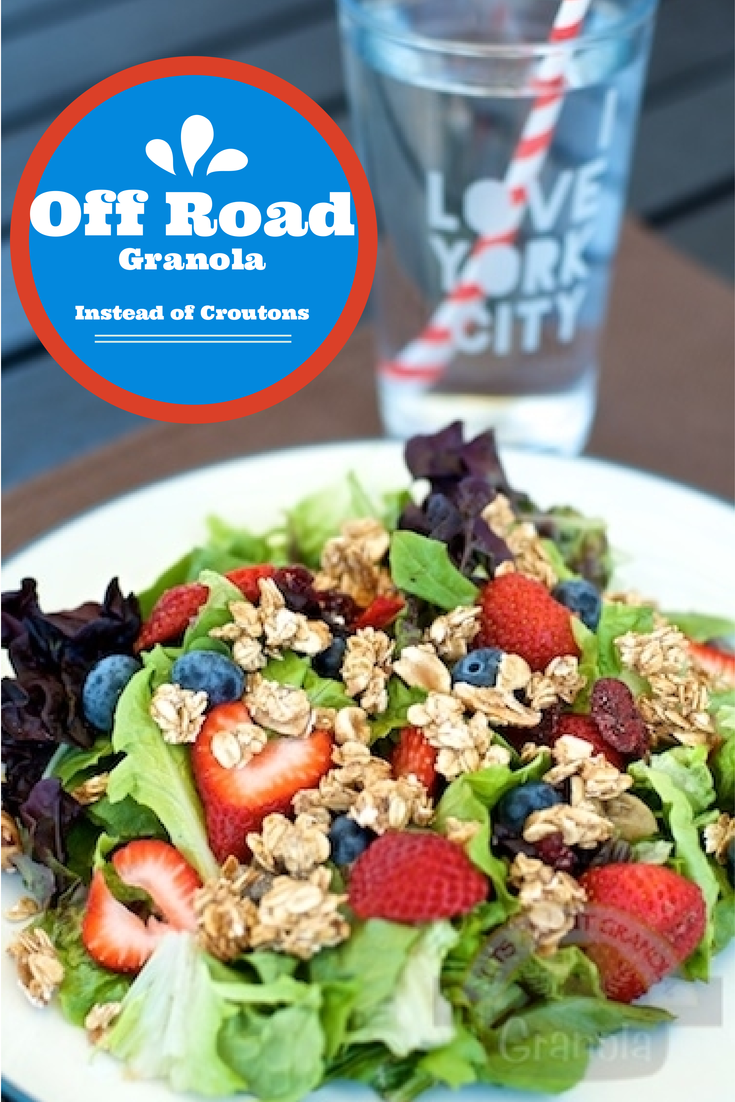 Off Road Granola instead of croutons