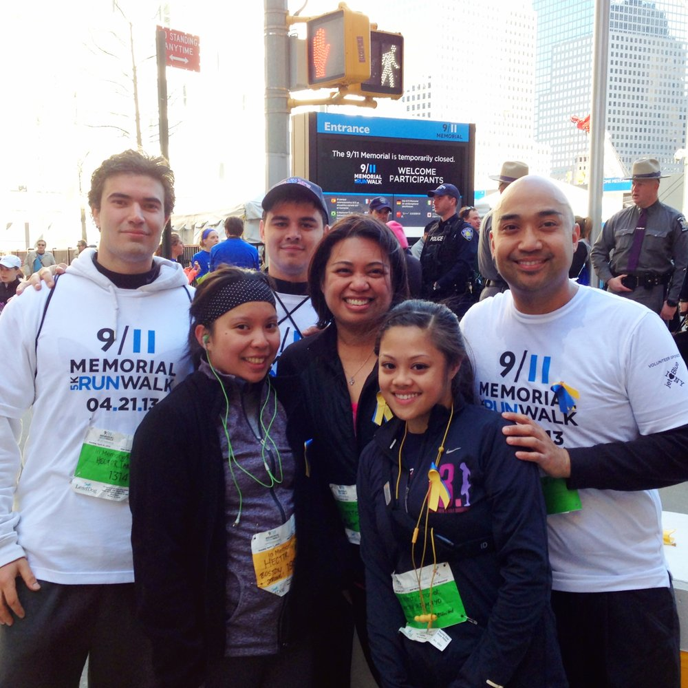 Team TORCHE Bearers @ 9/11 Memorial 5k Run/Walk 2016