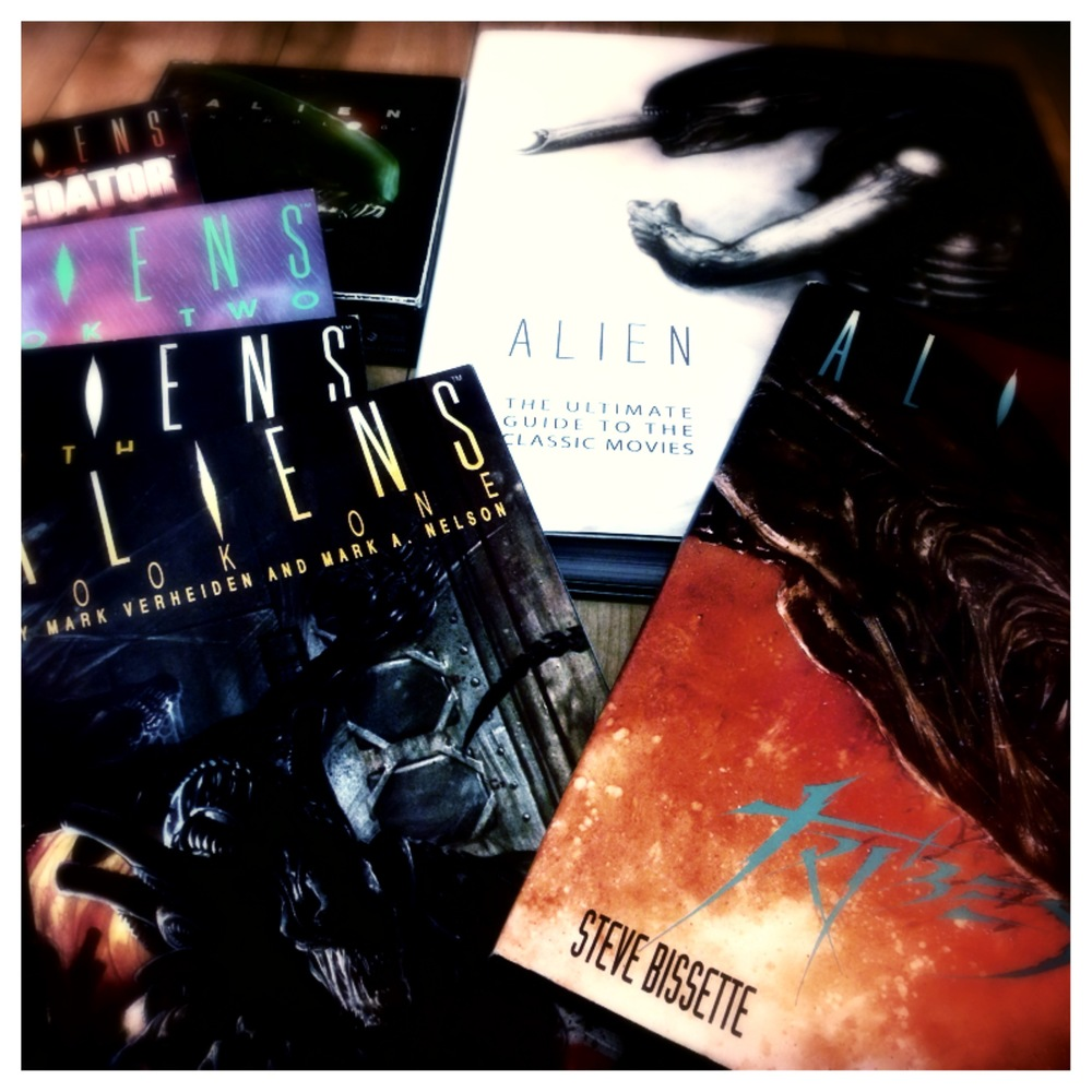 A small part of my Alien collection.