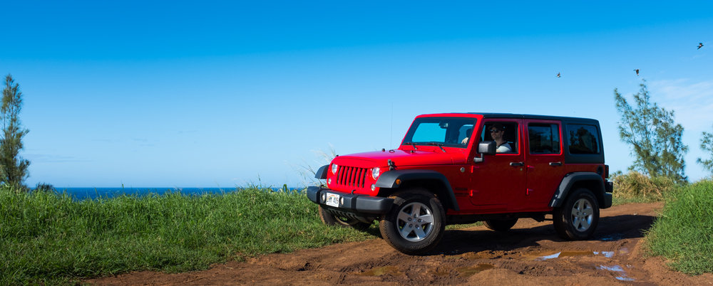 Cruising Maui Rent A Car Jeep