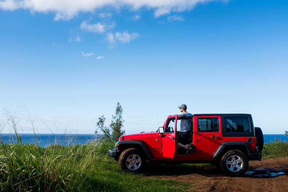 Cruising Maui Rent A Car Jeep Adventure