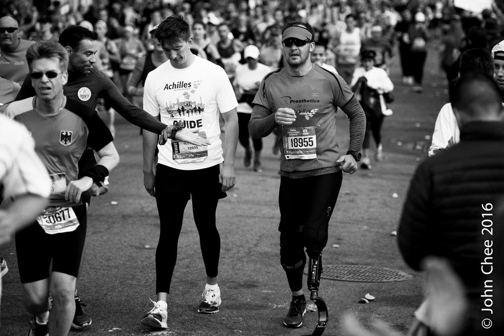 Series: Inspired (1/9) - Challenge, NYC Marathon (2016)