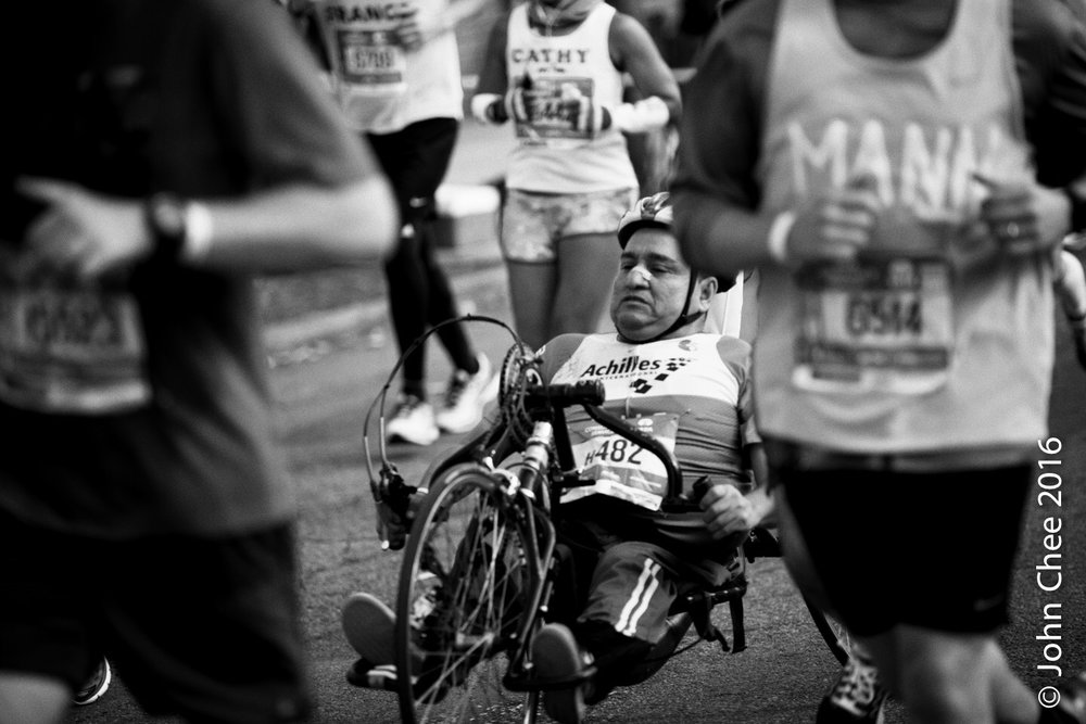 Series: Inspired (6/9) - Driven, NYC Marathon (2016)