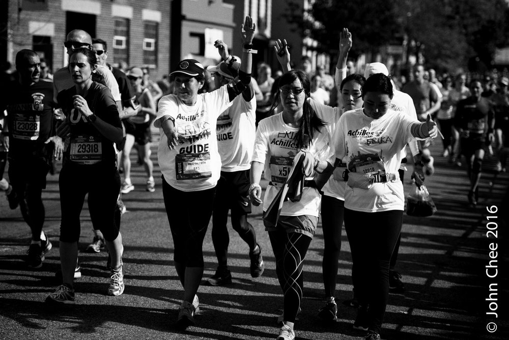 Series: Inspired (7/9) - Support, NYC Marathon (2016)