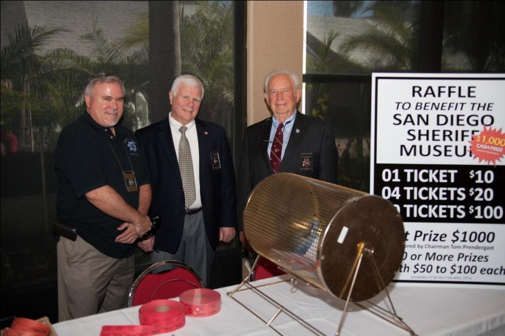 HDSA Member John SIlva, 2014 HDSA Vice President Bob Kipper, 2014 HDSA President Allan Rappoport