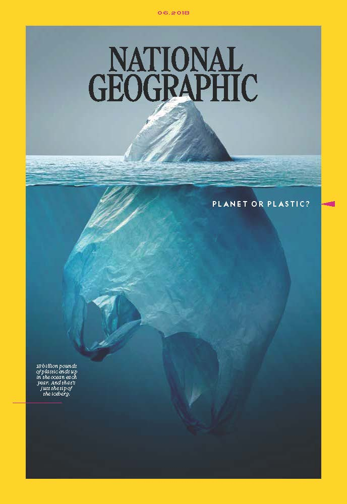 Planet or Plastic  - Produced the entire National Geographic Magazine package for print and online