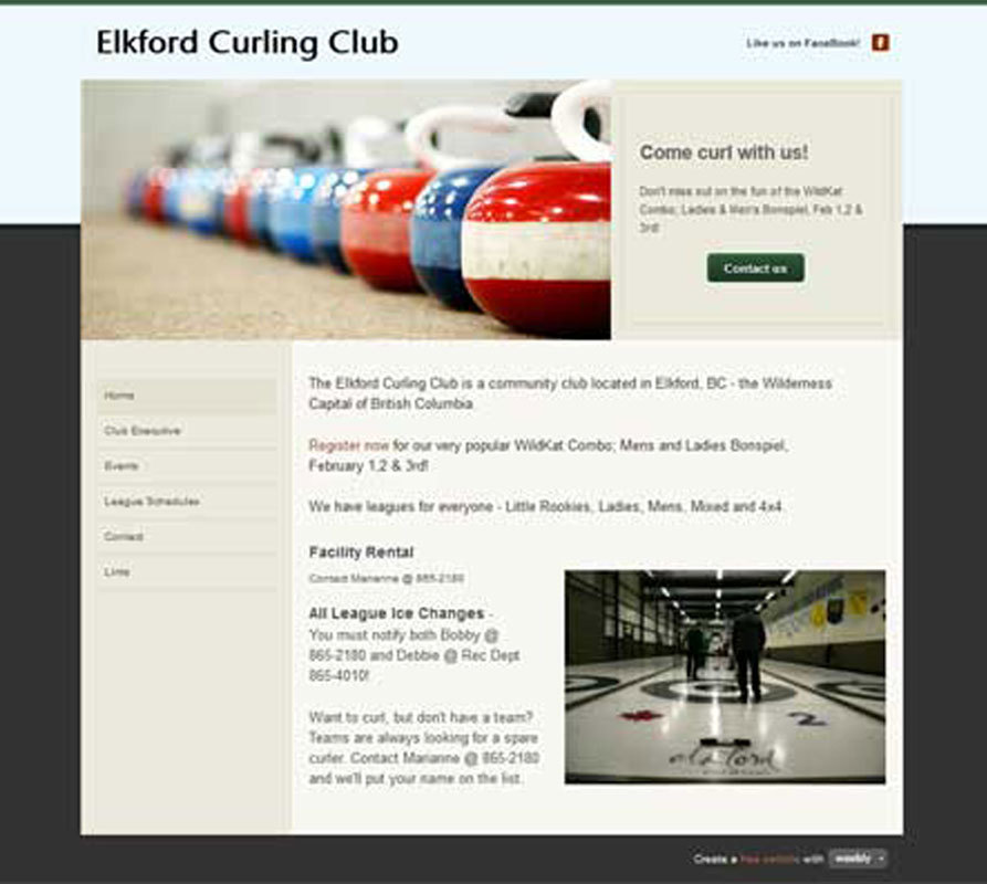 Elkford Curling Club