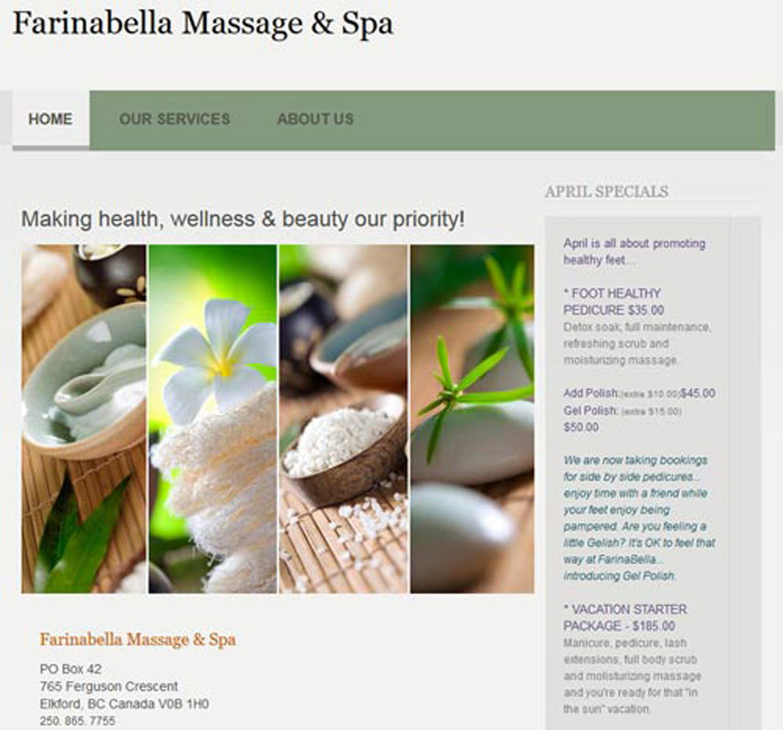 Farinabella Massage & Spa