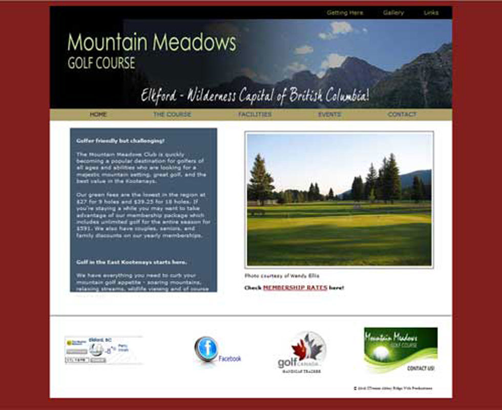 Mountain Meadows Golf Club