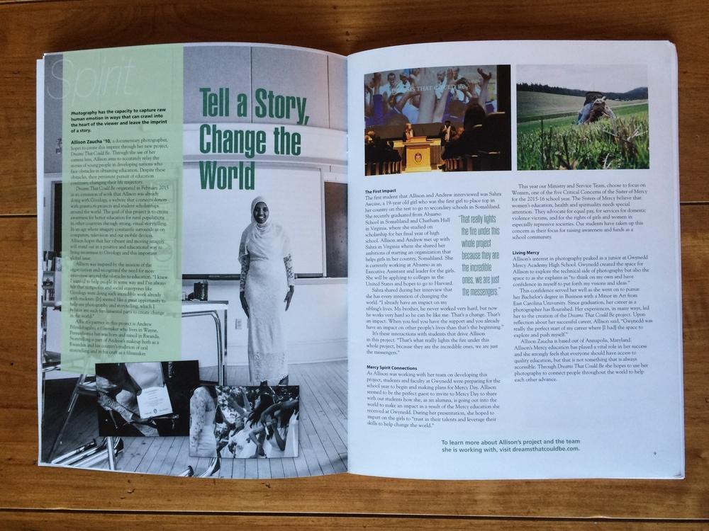 Gwynedd Mercy Magazine