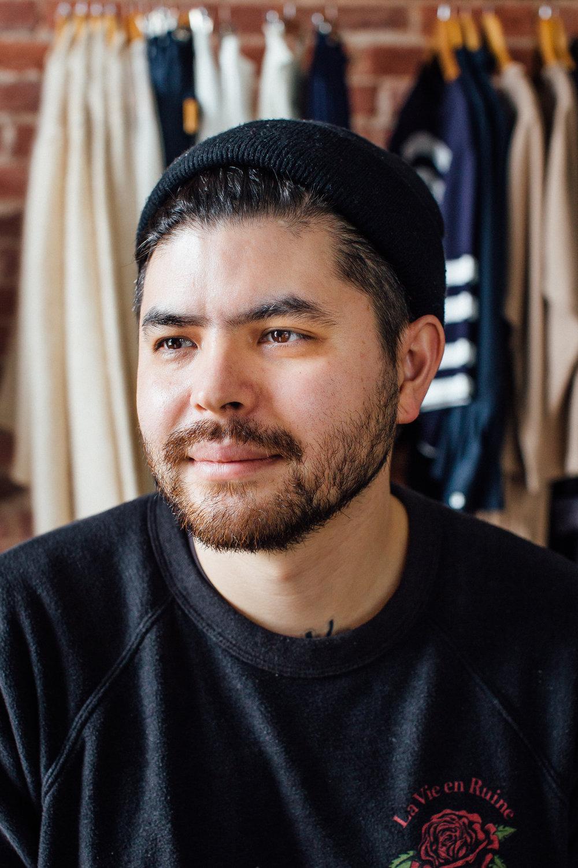 Chef Erik-Bruner Yang at Shopkeers in Washington, D.C. on February 21, 2017.