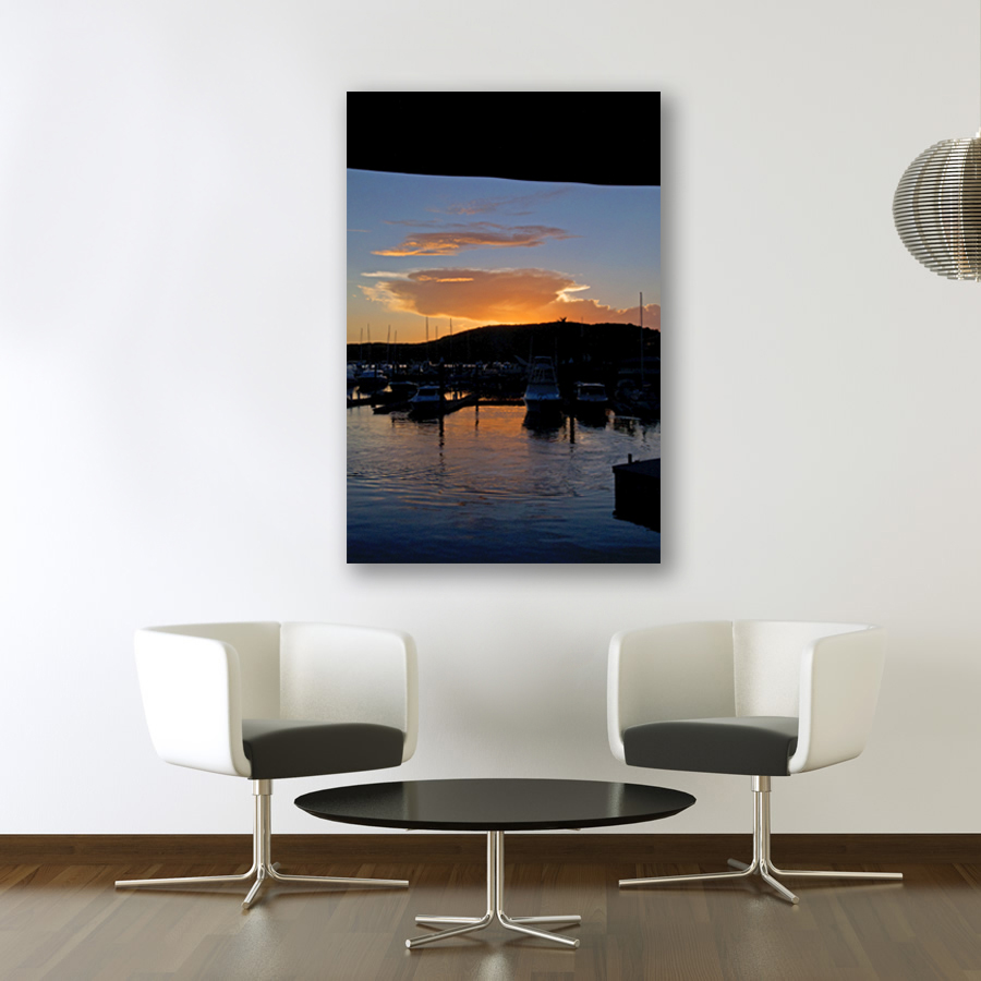 White wall and chairs - bay sunset.jpg