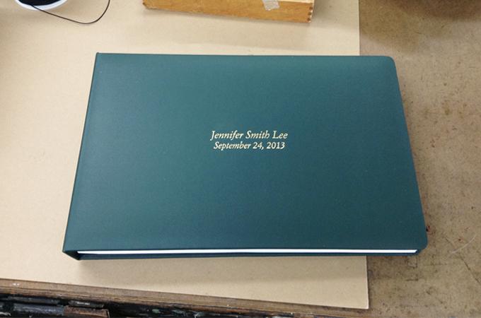 Green Portfolio Book