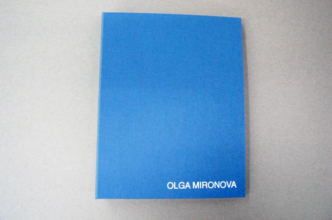 Bright Blue Portfolio Book