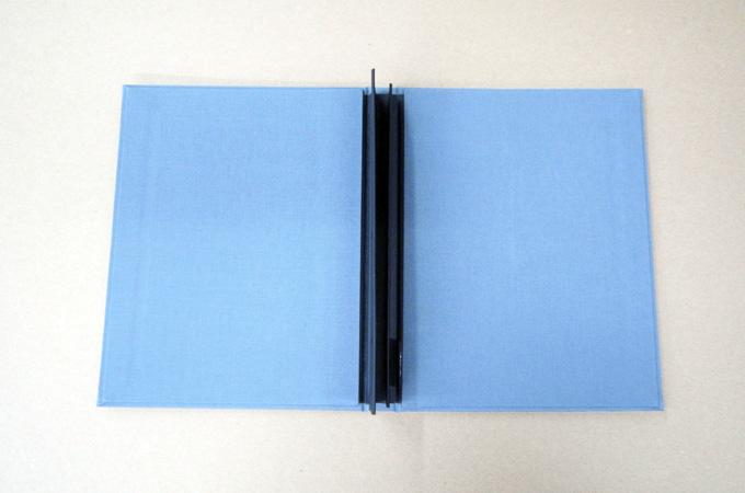 Opened Portfolio Book
