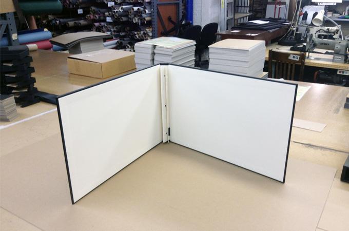 Portfolio Book Displayed Upright