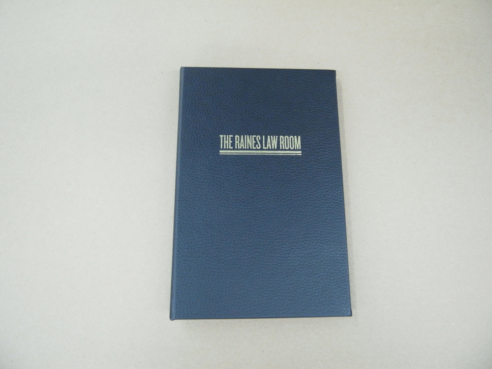 Blue Menu Cover With Brand Name