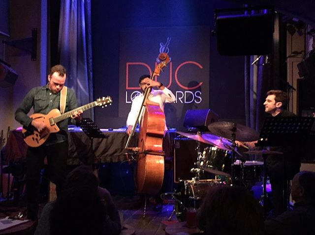 Back in Europe and on tour with Matthew Stevens' Trio.  Had a great start in Paris at Duc des Lombards - off to Berlin...