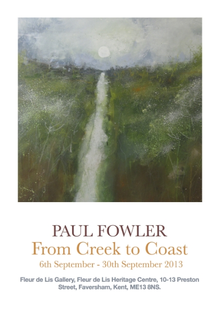 Paul Fowler From Creek To Coast Exhibition Poster