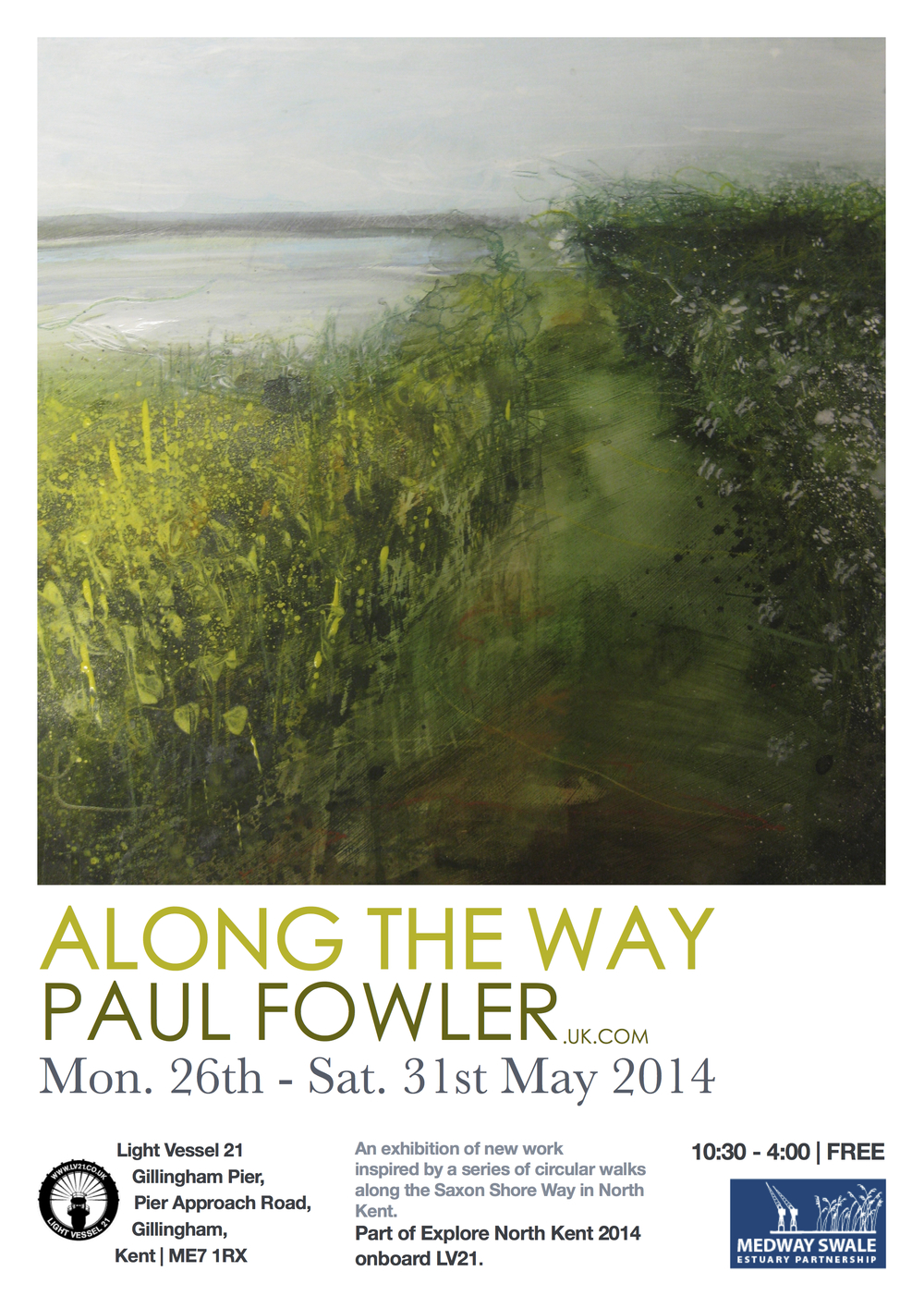 Along The Way Poster