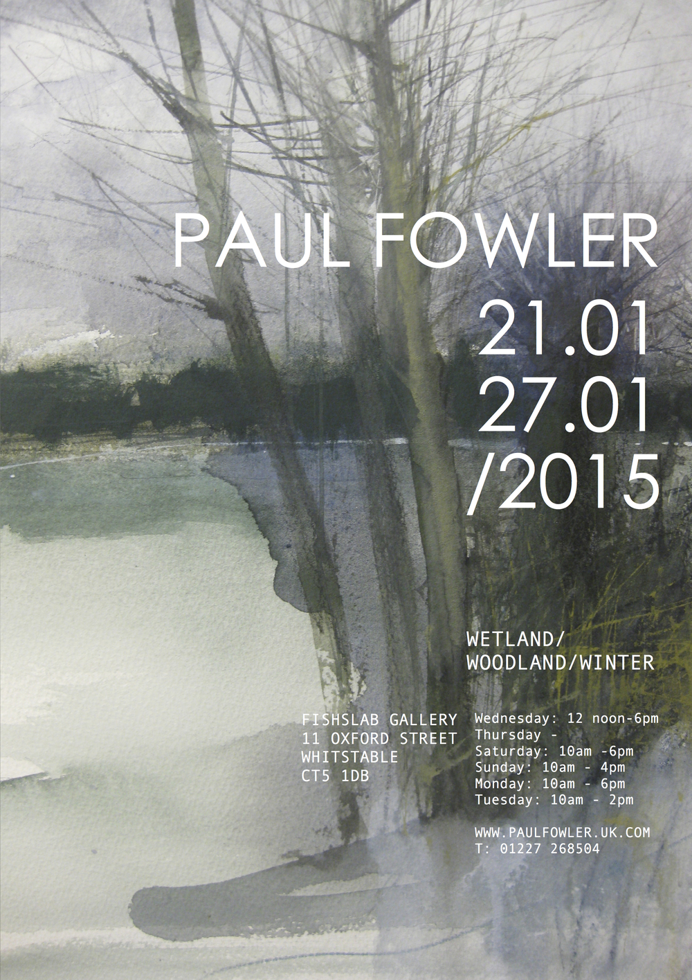 Poster for January 2015