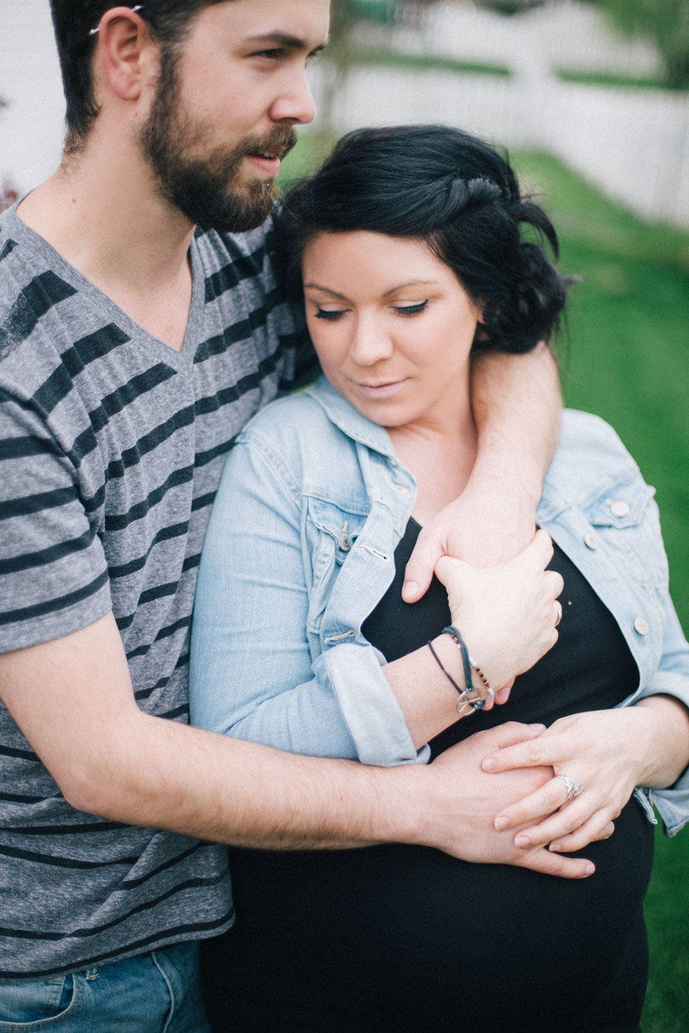 leann + anthony maternity