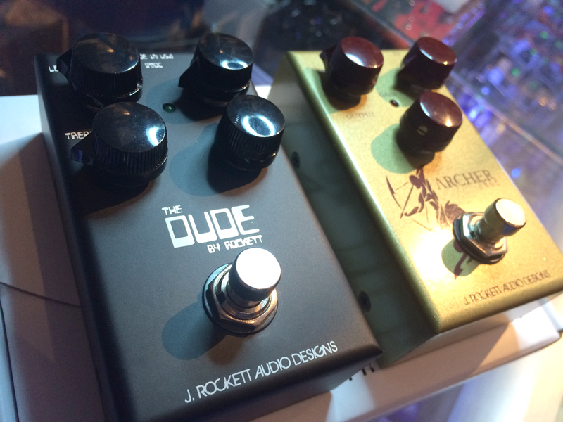 NEW J.ROCKETT PEDALS IN STOCK NOW! ARCHER IKON, BOING SPRING REVERB, THE DUDE AND MORE...