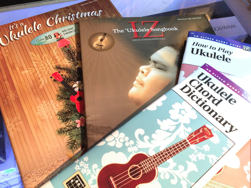 guitar and ukulele books