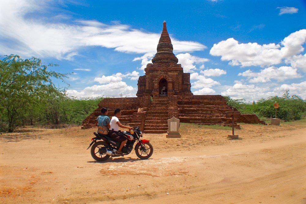 A road in Bagan, Myanmar. (C) Remko Tanis